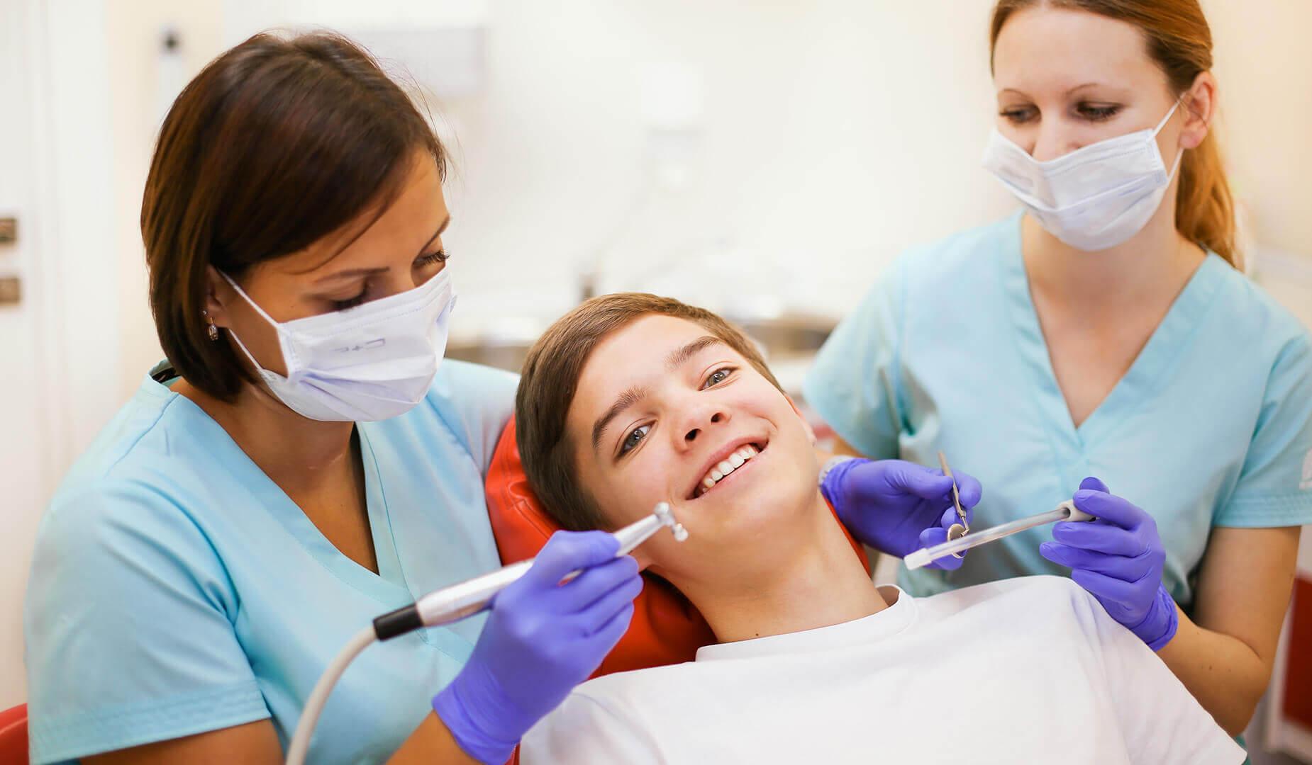 Процесс лечения
