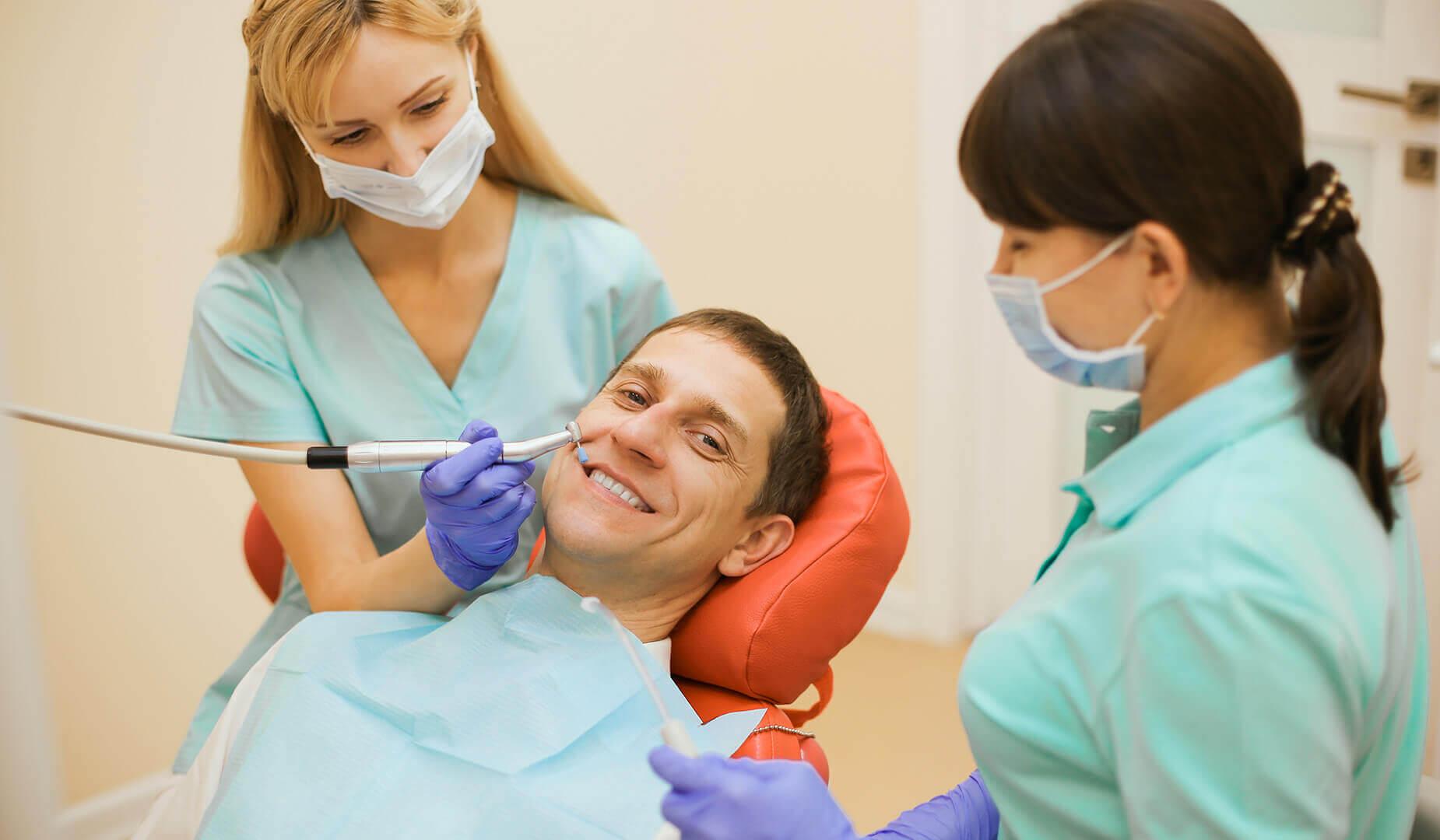 Полировка зубов