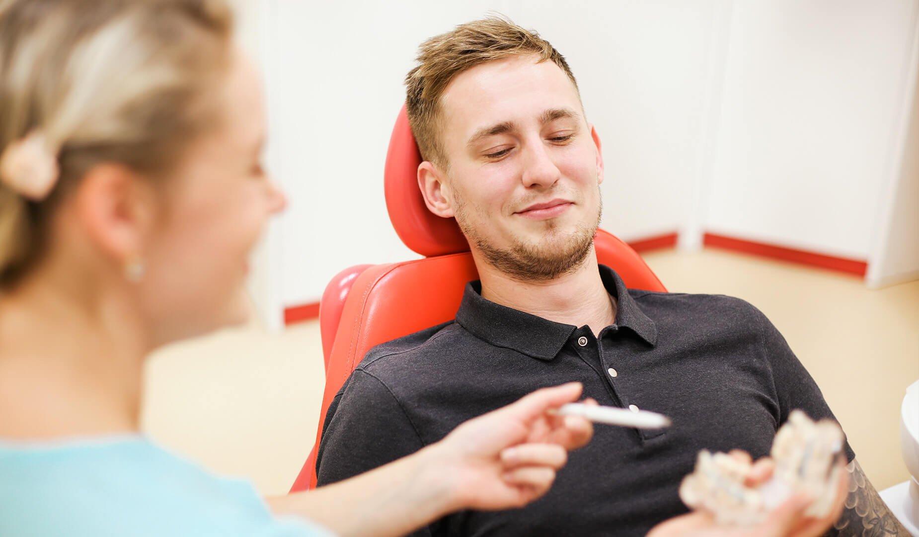 Консультация с врачом-ортодонтом
