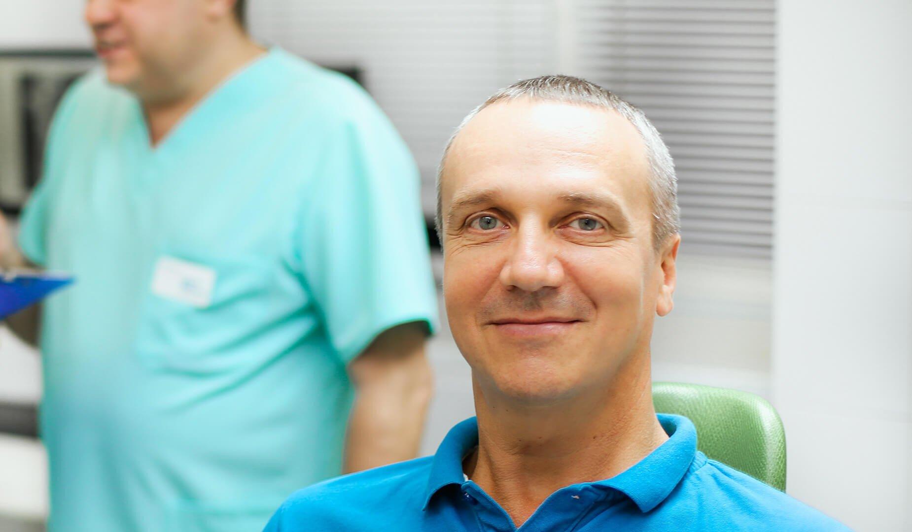 Пациент после имплантации